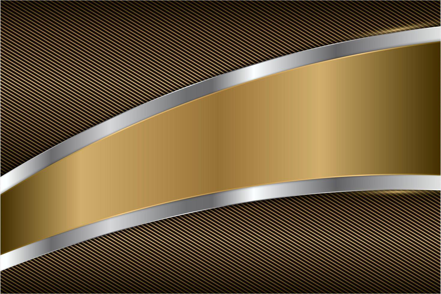 eleganter moderner Metallhintergrund vektor