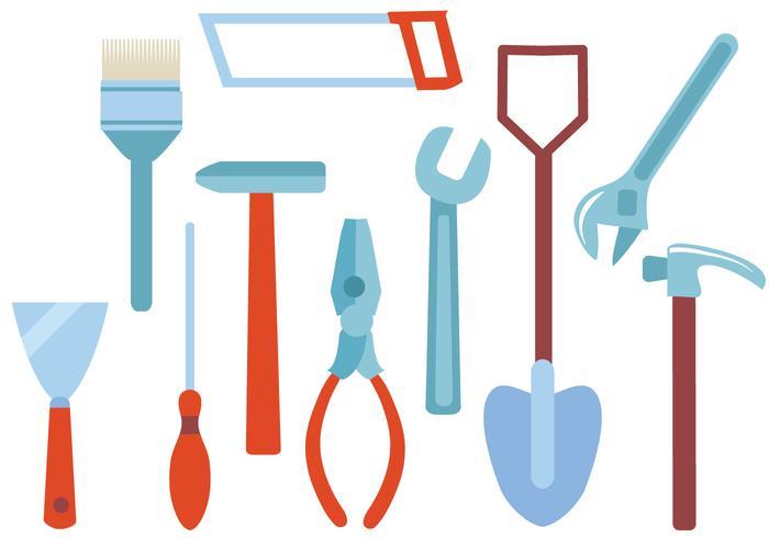 Kostenlose Bricolage Werkzeuge Vektoren