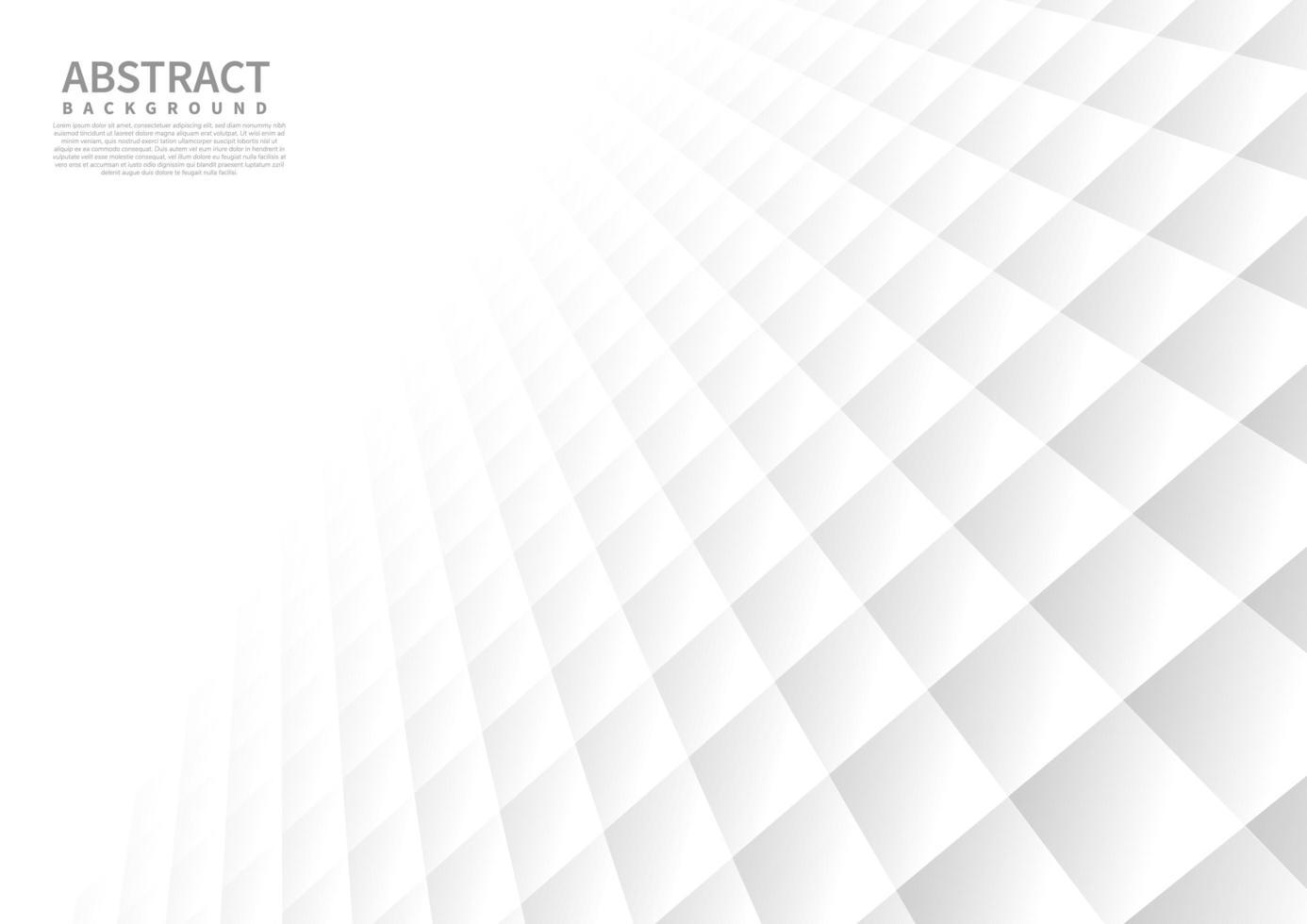 abstrakter perspektivischer quadratischer Musterhintergrund vektor
