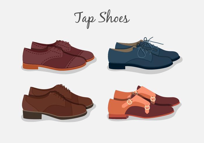 Tap Shoes Kollektion vektor