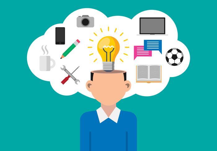 Business Concept Illustration von Idee Konzept vektor