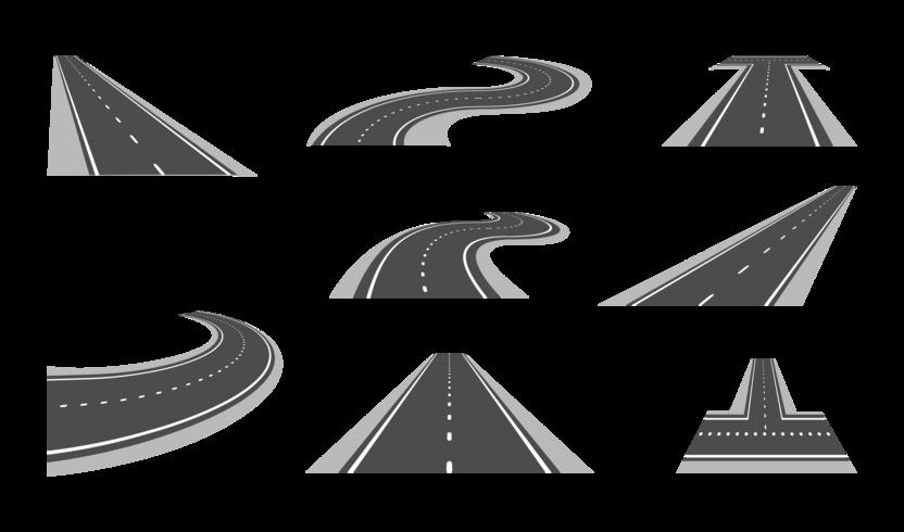 Autobahnvektoren vektor