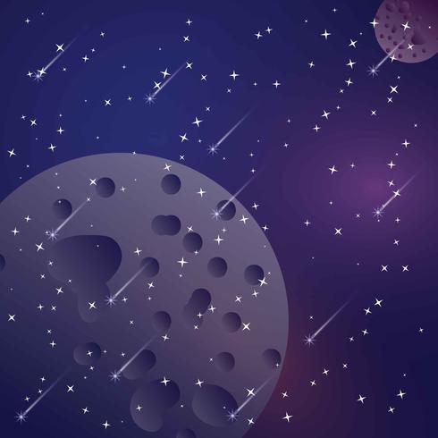 Star Staub Hintergrund Vektor