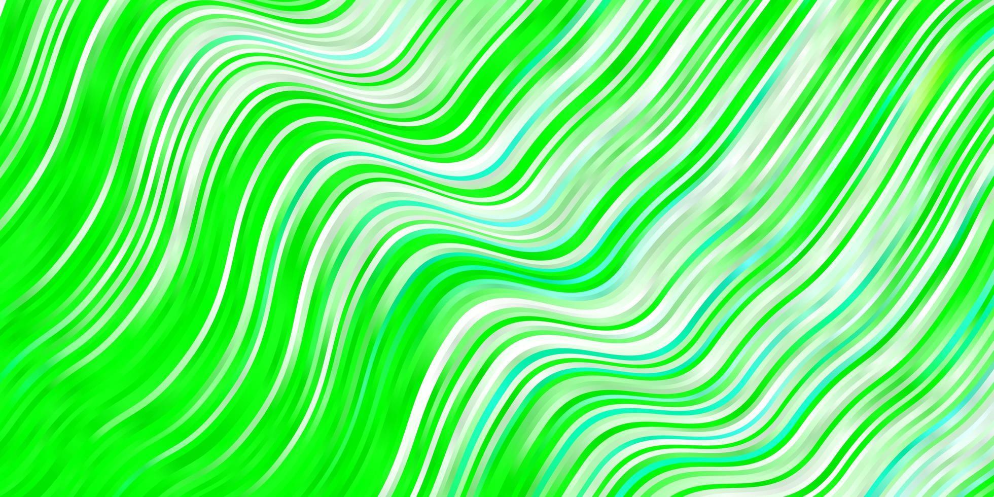 ljusgrön bakgrund med linjer. vektor
