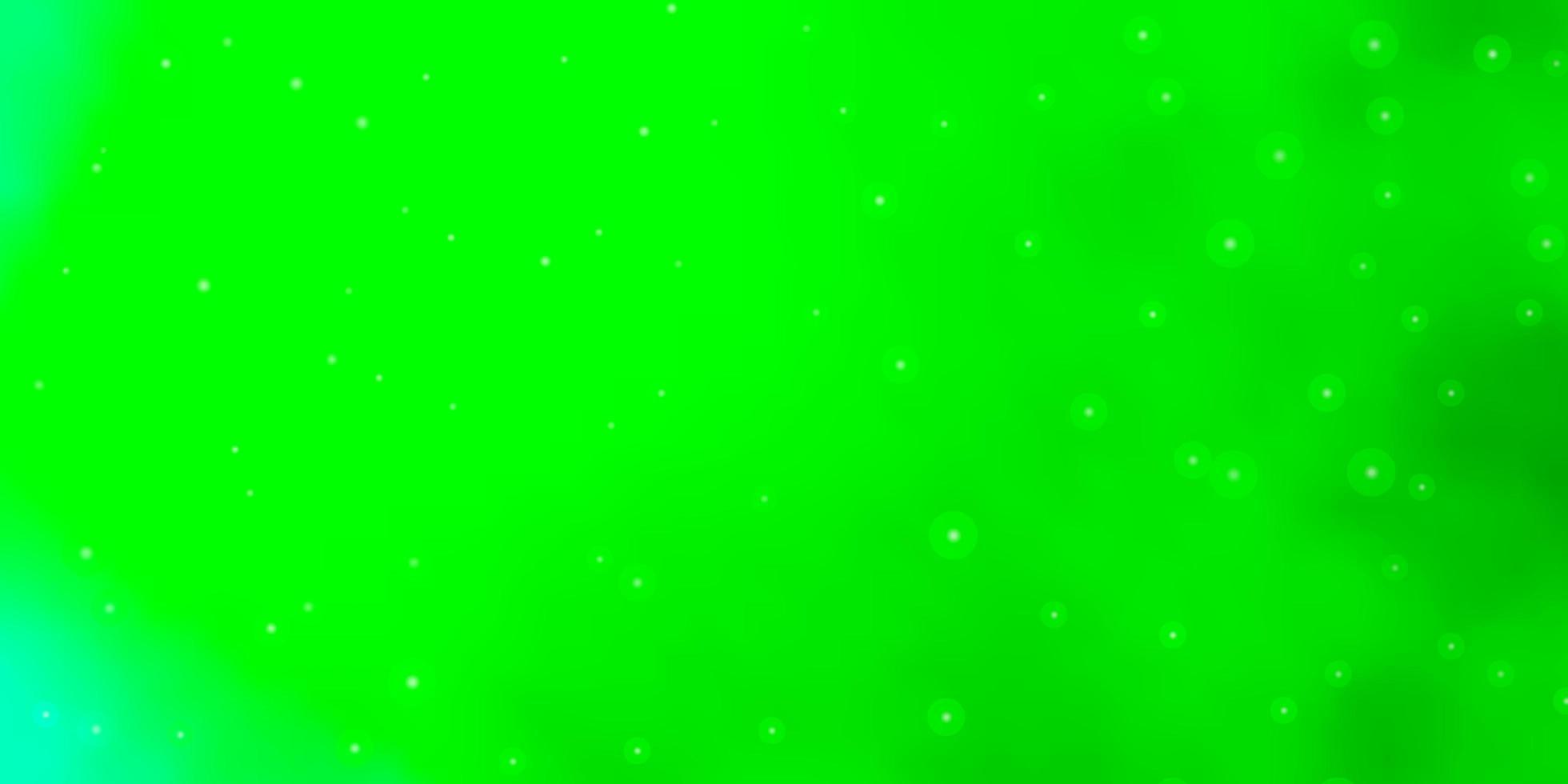 hellgrüne Textur mit schönen Sternen. vektor