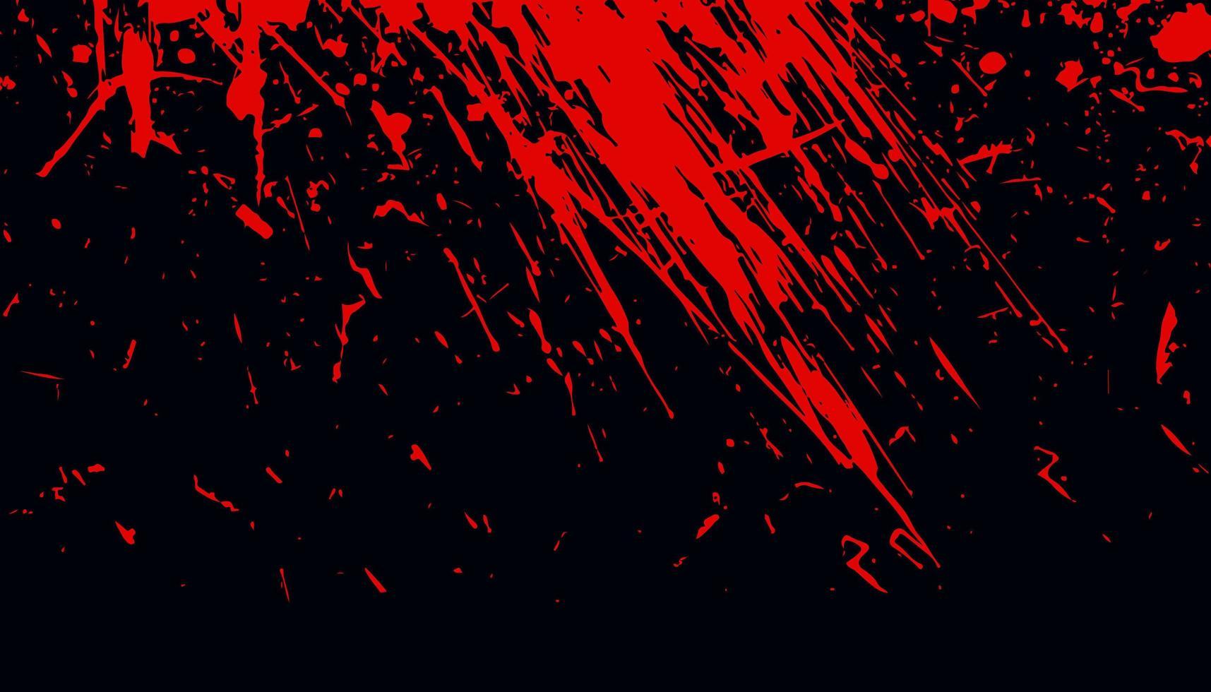 blodig röd grunge abstrakt textur bakgrund vektor