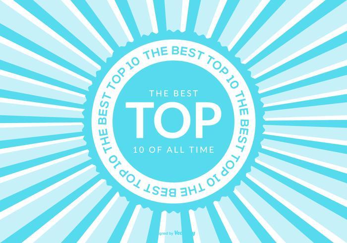 Topp 10 bakgrunds illustration vektor