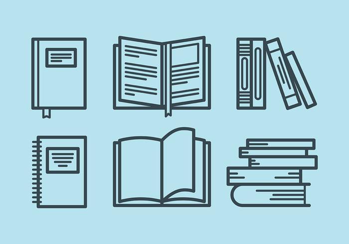 Libro Vektor-Icons vektor