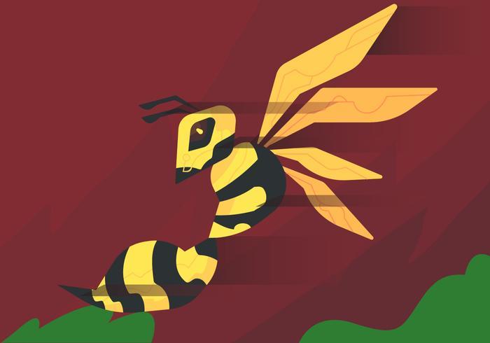 Hornissen Sting Vektor