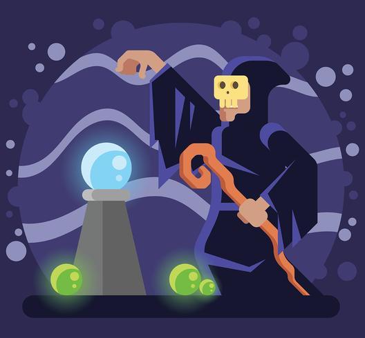 shaman vektor illustration