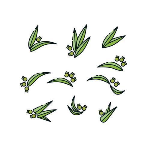 Gratis Plant Collection Icon Vector