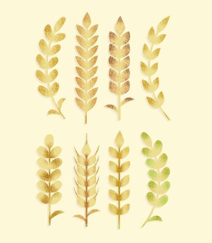 Gratis Textured Grain Vector