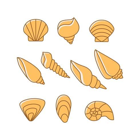 Shell-Symbol Vektor