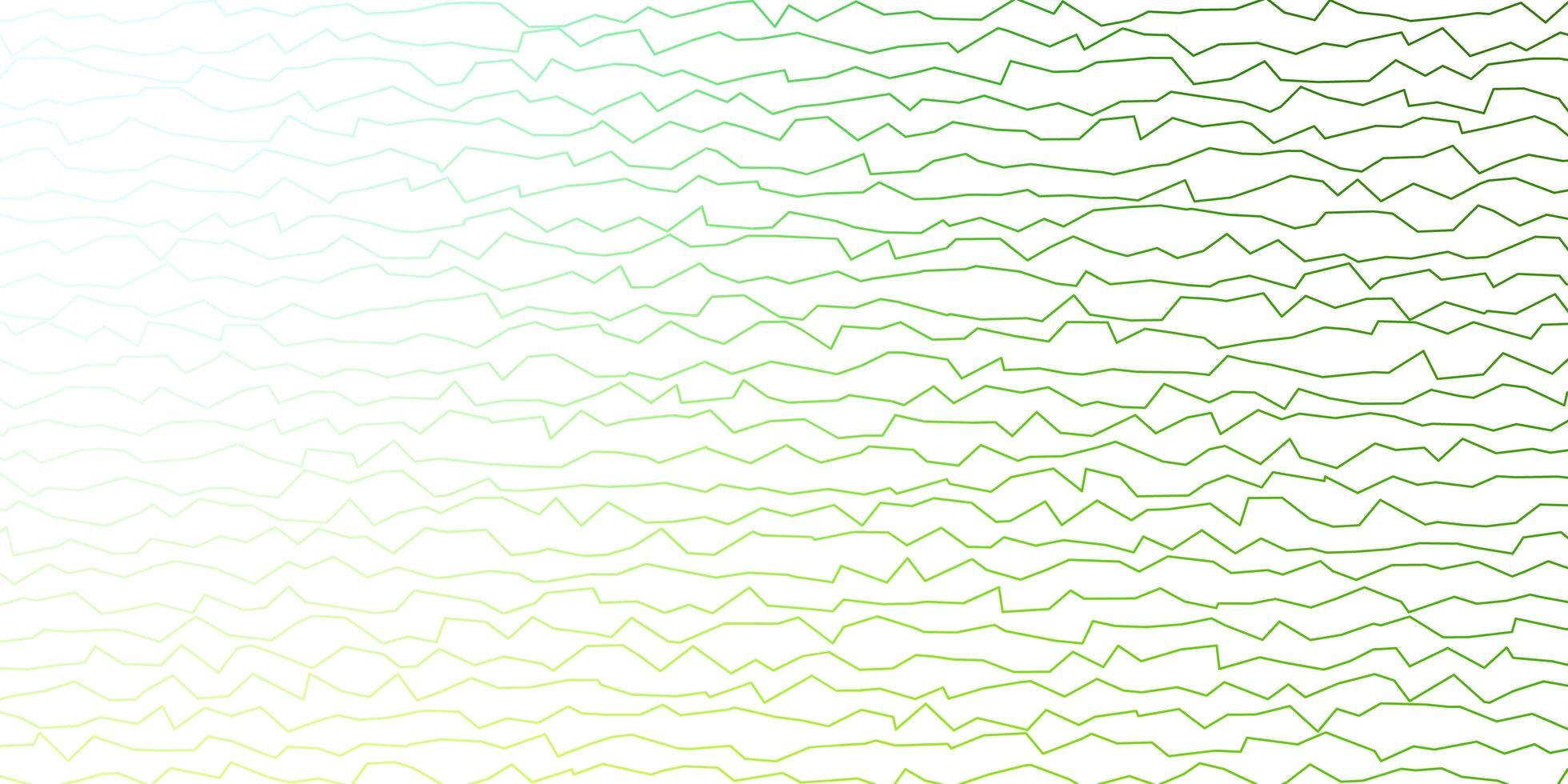 grön mall med linjer. vektor