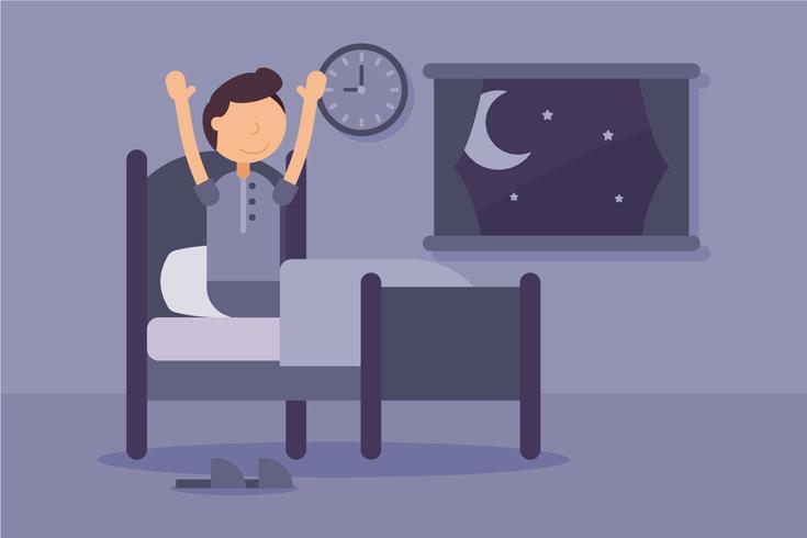 Einzigartige Schlafenszeit-Vektoren vektor