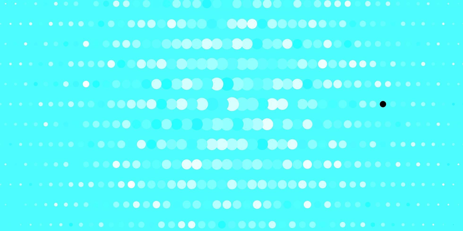 blått mönster med sfärer. vektor