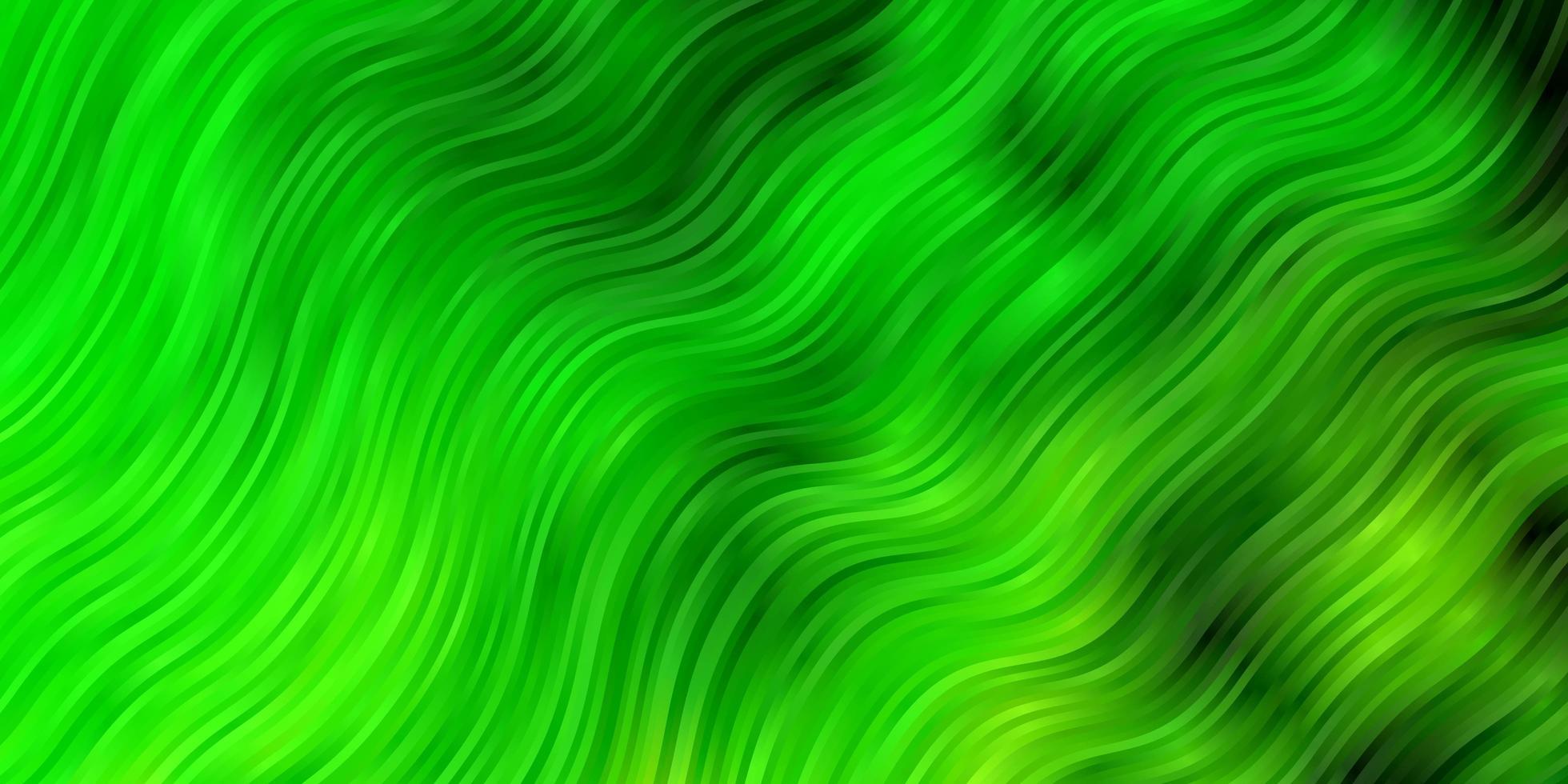 hellgrüner Hintergrund mit Bögen. vektor