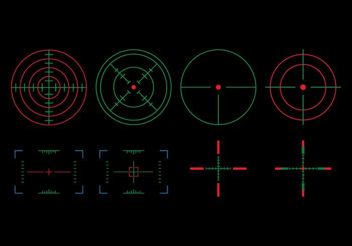 Zielmenge anzeigen vektor