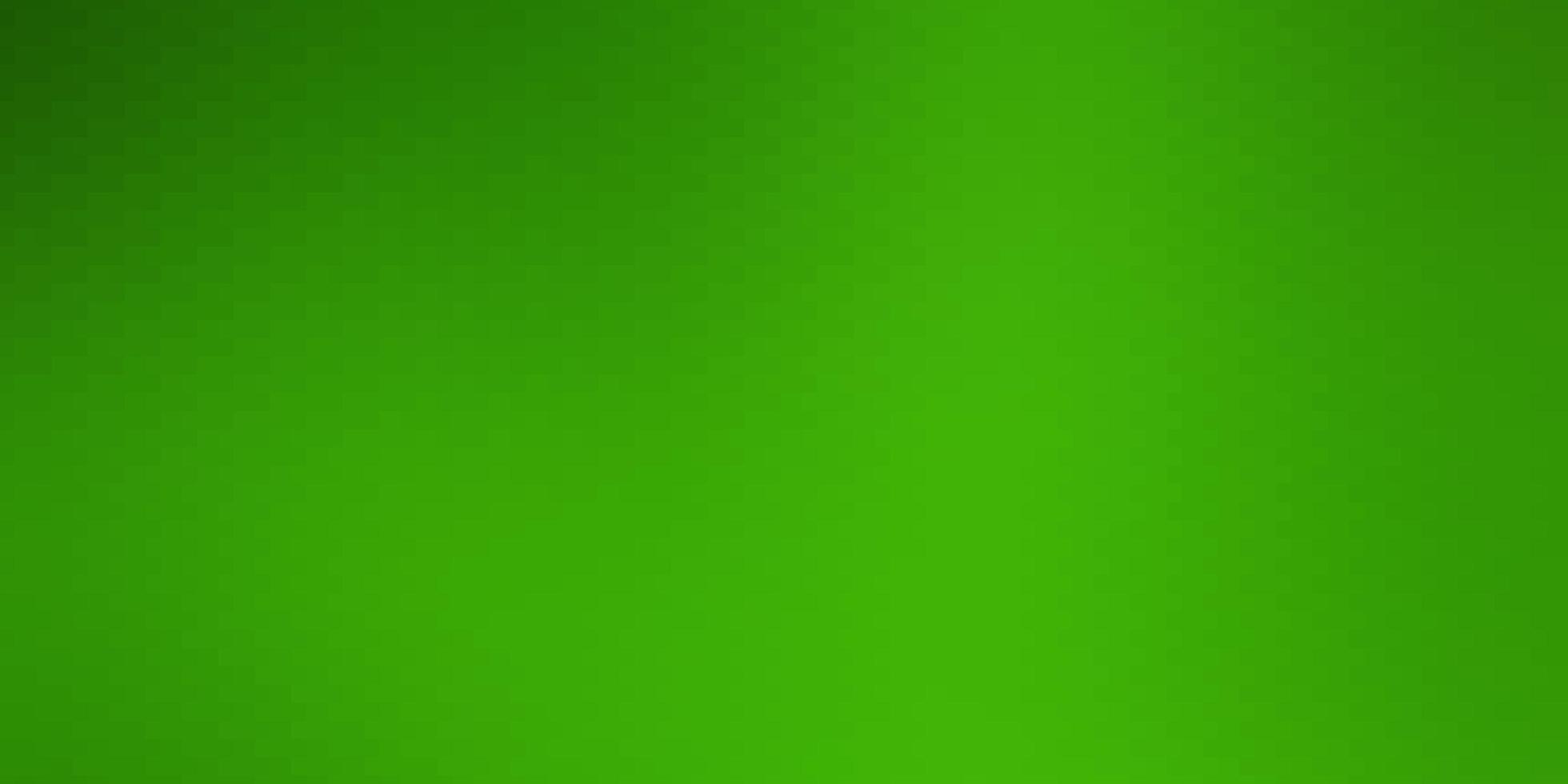 hellgrüner Hintergrund im polygonalen Stil. vektor