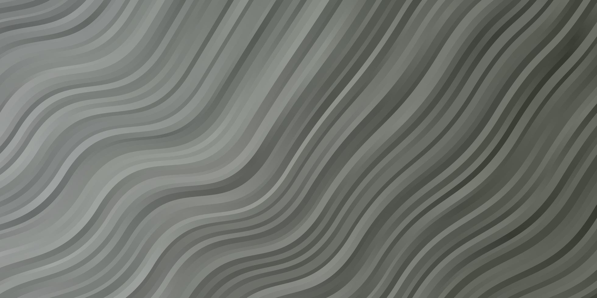 ljusgrå bakgrund med böjda linjer. vektor