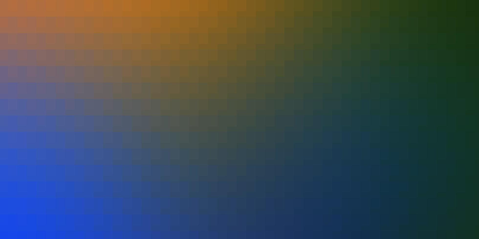 hellblauer, gelber Hintergrund mit Rechtecken. vektor