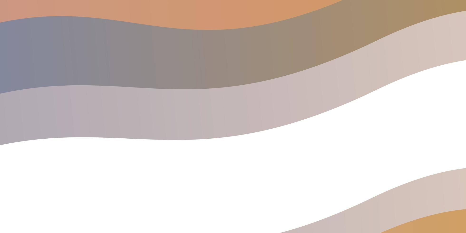 hellblaue, gelbe Schablone mit schiefen Linien. vektor