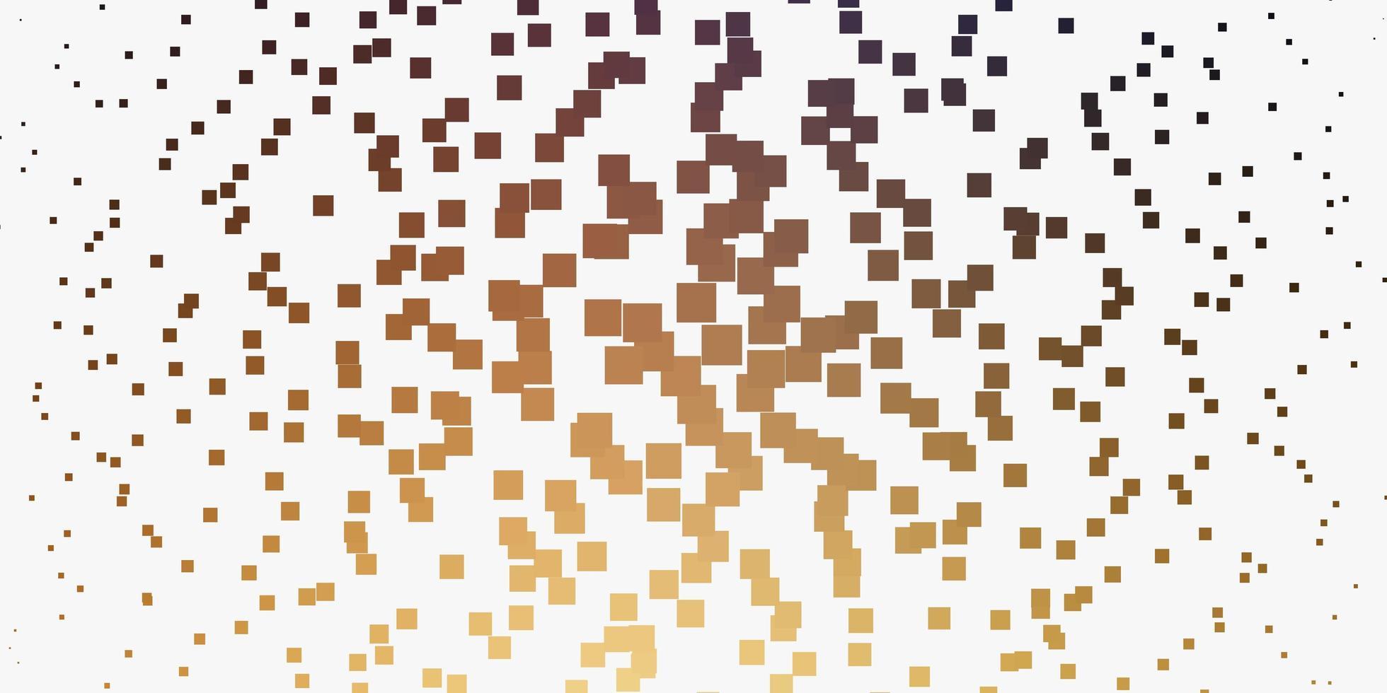 gul mall med rektanglar. vektor