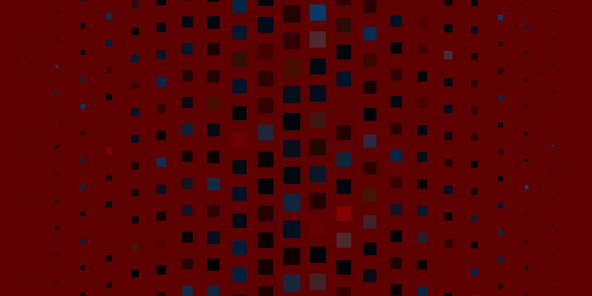 roter Hintergrund mit Rechtecken. vektor