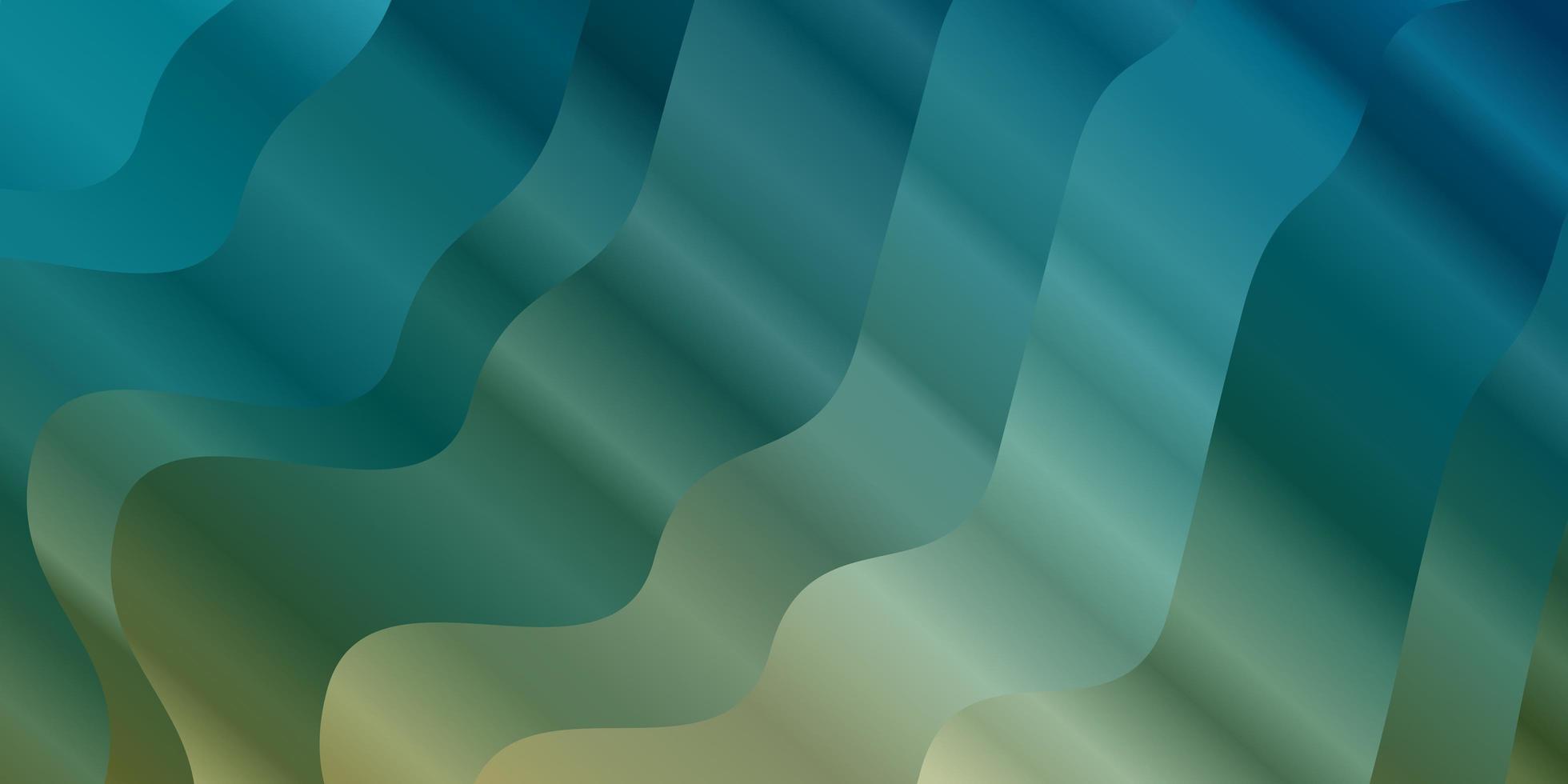 ljusblå, gul bakgrund med cirkulär båge. vektor