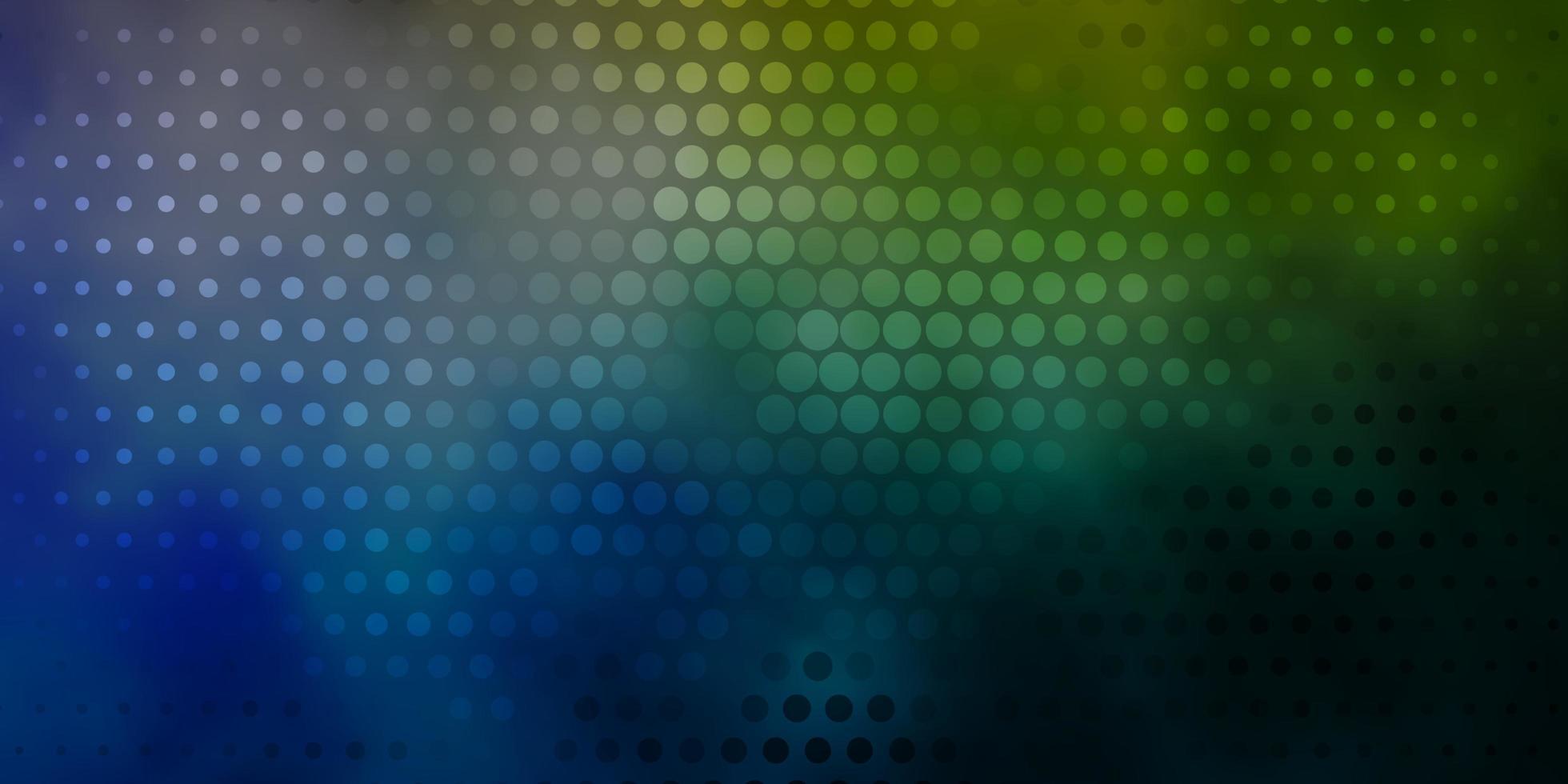 hellblauer, gelber Hintergrund mit Punkten. vektor