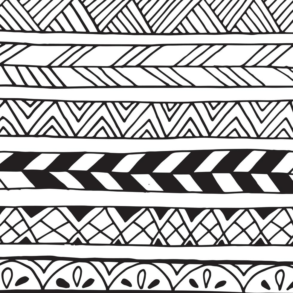 abstrakt doodle mönster. vektor