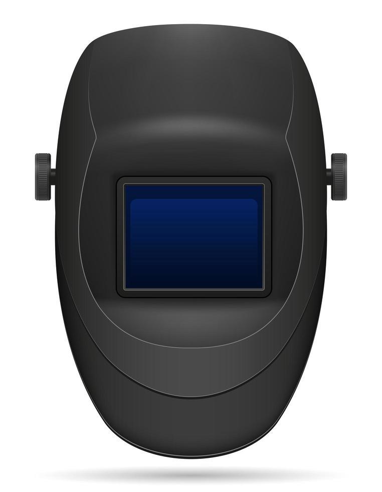skyddsmask för svetsare vektor