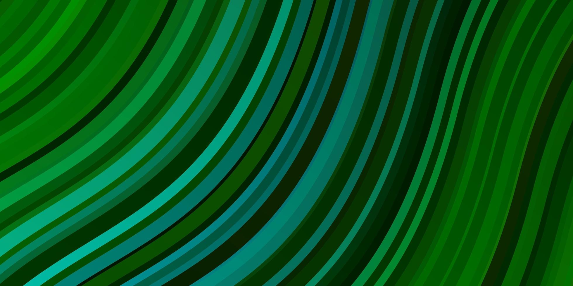grön bakgrund med linjer. vektor