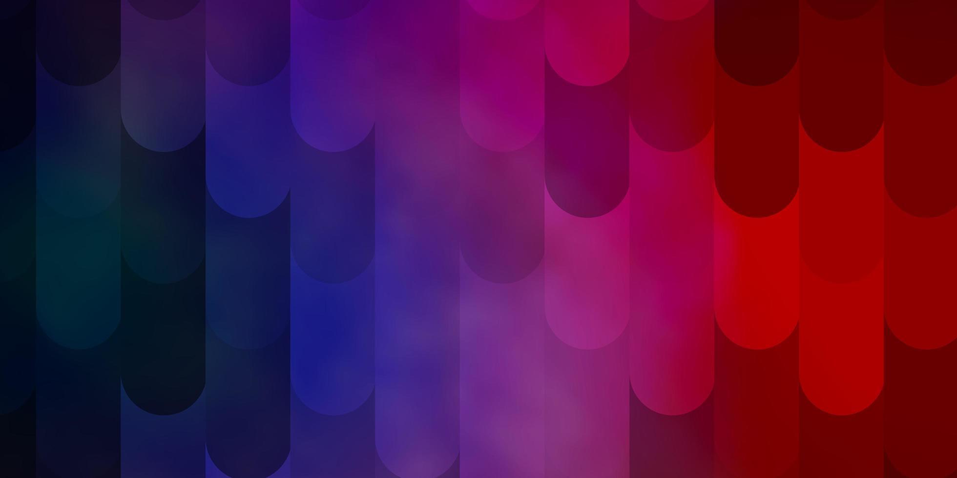 hellblauer Hintergrund mit Linien. vektor
