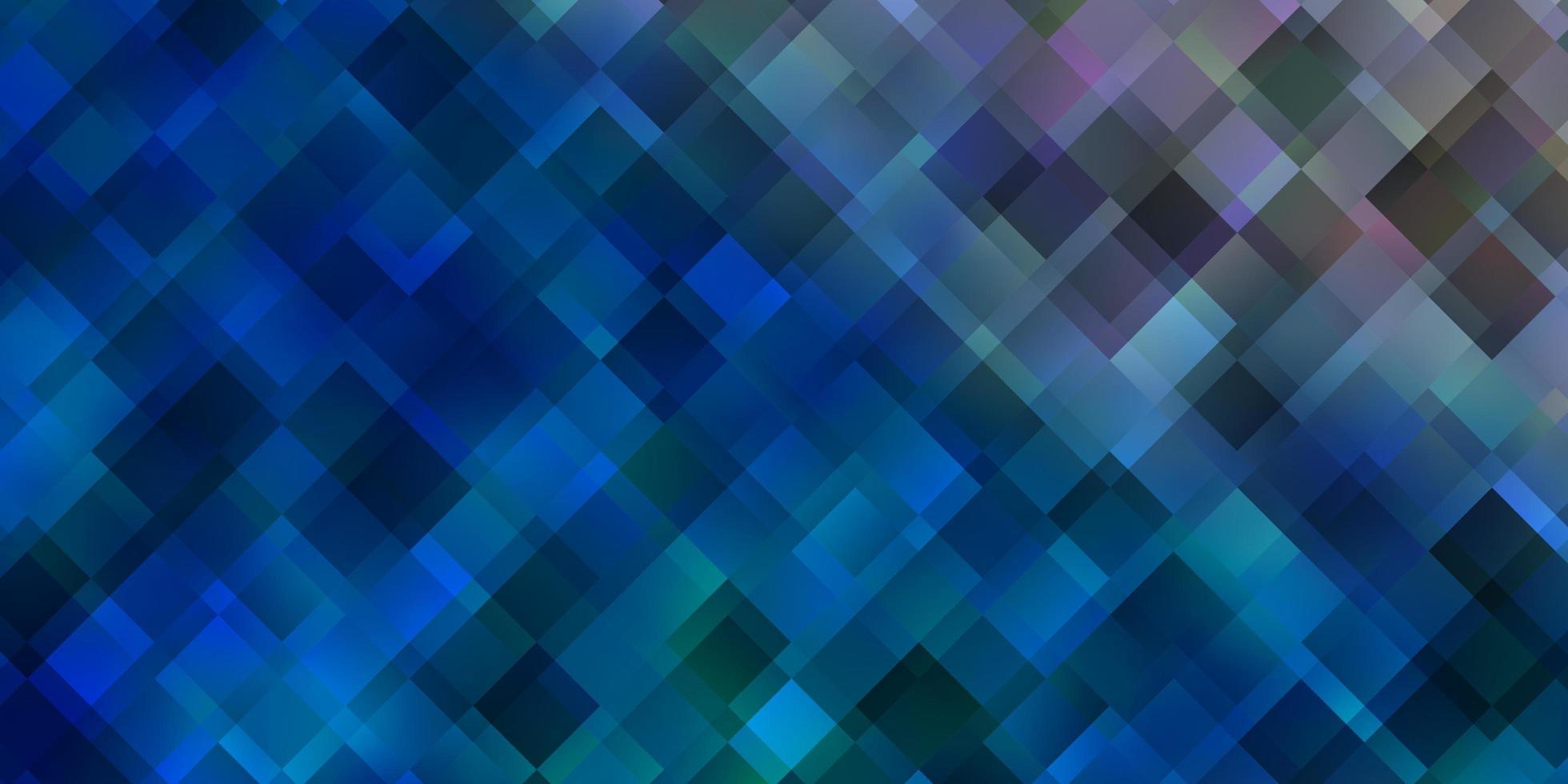 ljusblå layout med linjer, rektanglar. vektor