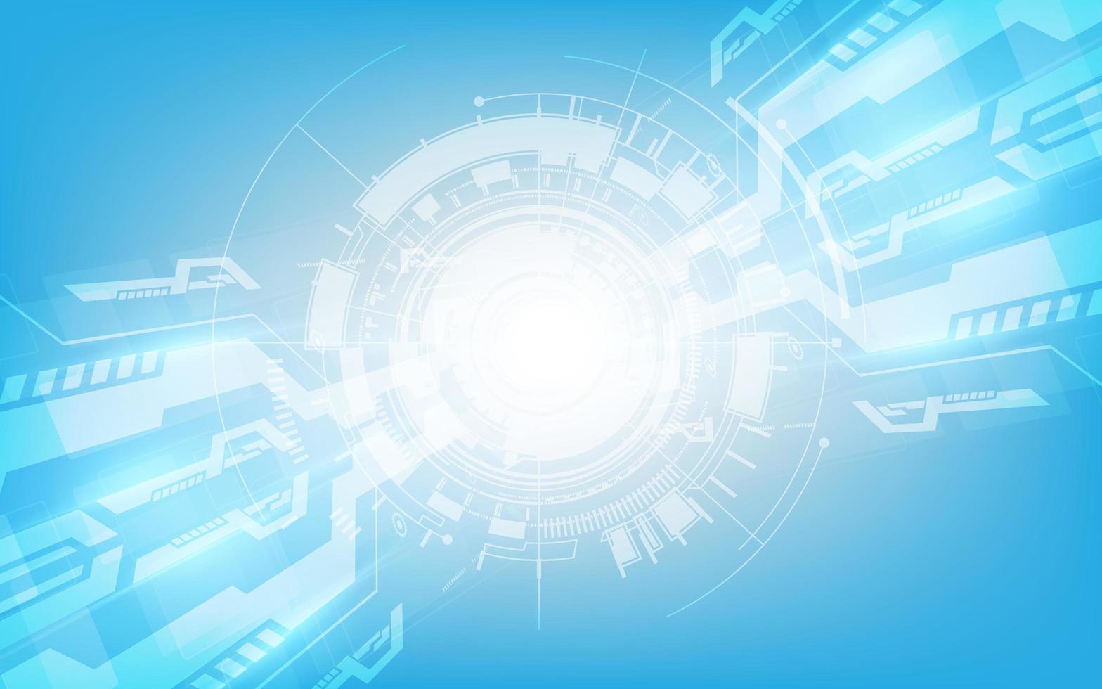 abstrakt digital hi tech teknik innovation koncept vektor bakgrund
