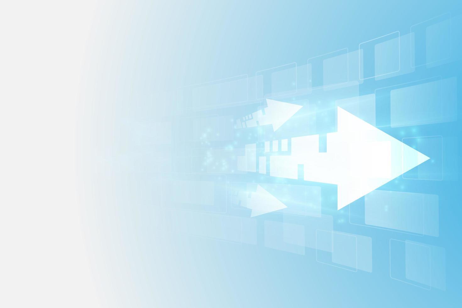 abstrakte zukünftige digitale Geschwindigkeitstechnologie vektor