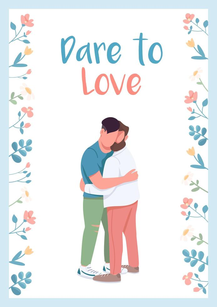 wage es, Plakat zu lieben vektor