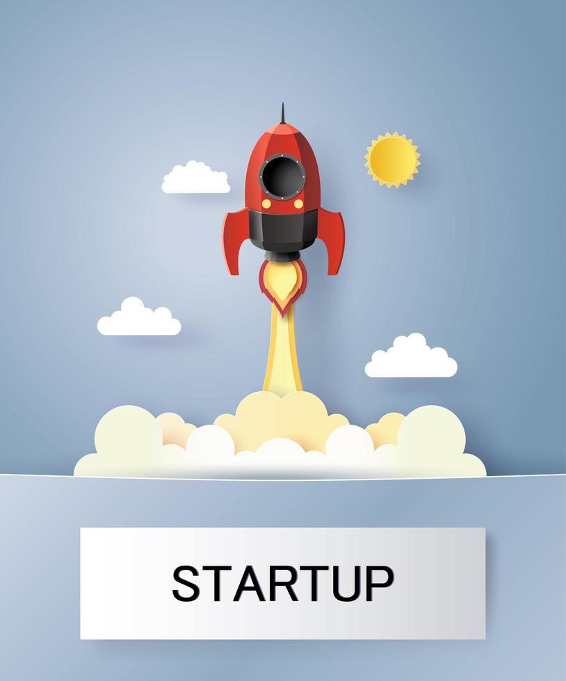 Start-up-Business-Konzept vektor
