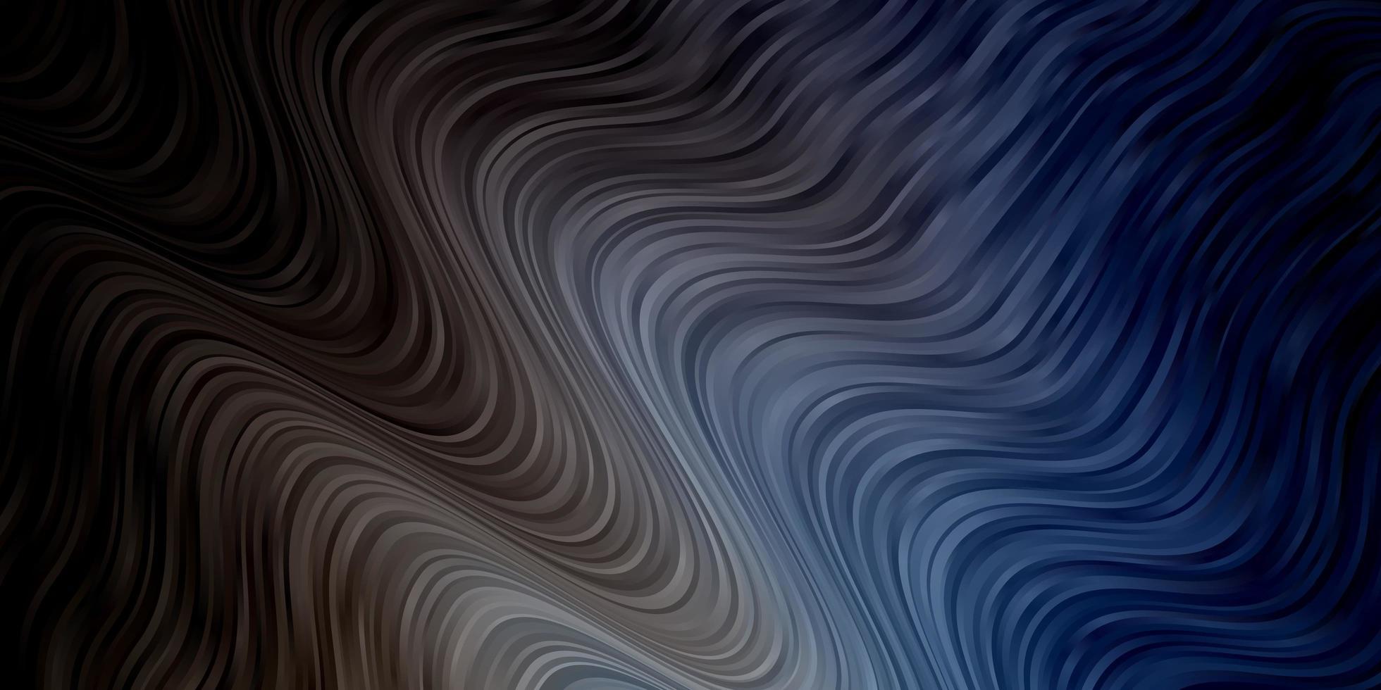 hellblaues Layout mit Kurven. vektor