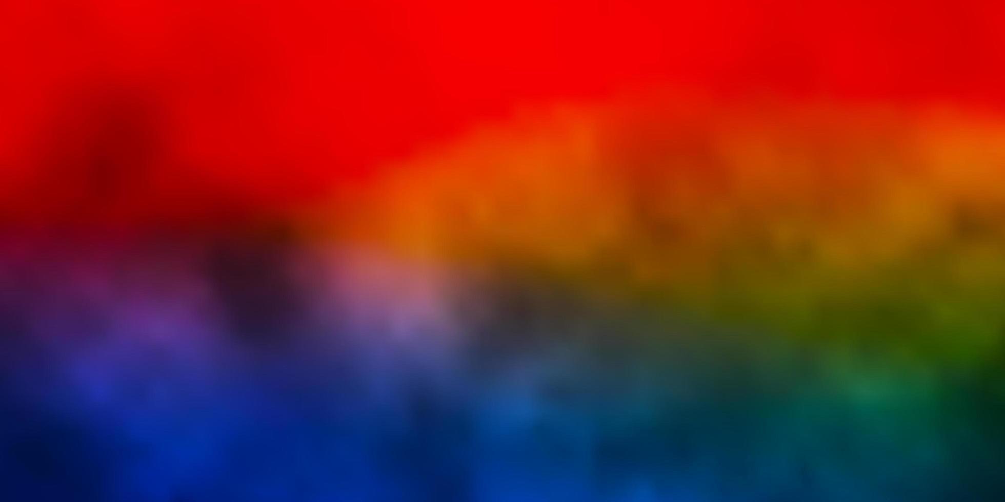 mörkblå, röd layout med molnlandskap. vektor