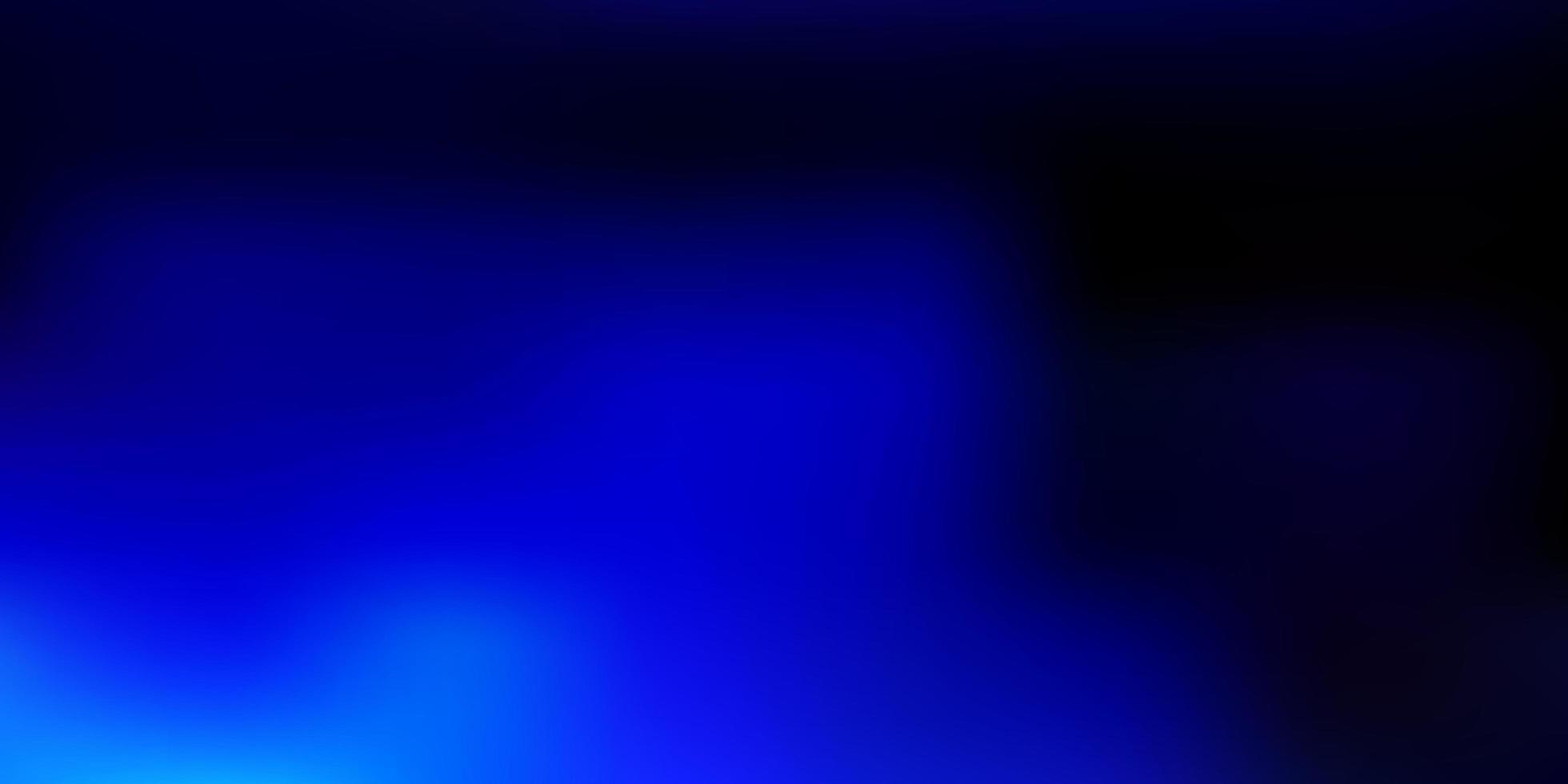 mörkblå gradient oskärpa bakgrund. vektor