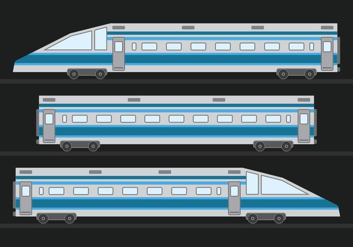 TGV höghastighetståg vektor
