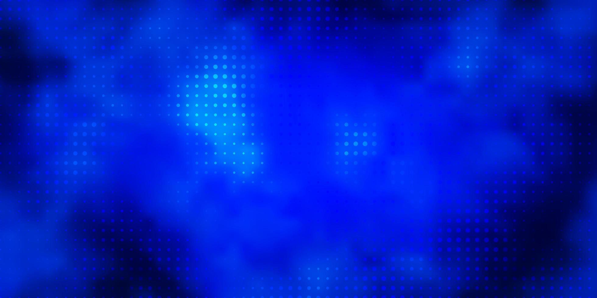 dunkelblaue Vektortextur mit Scheiben. vektor