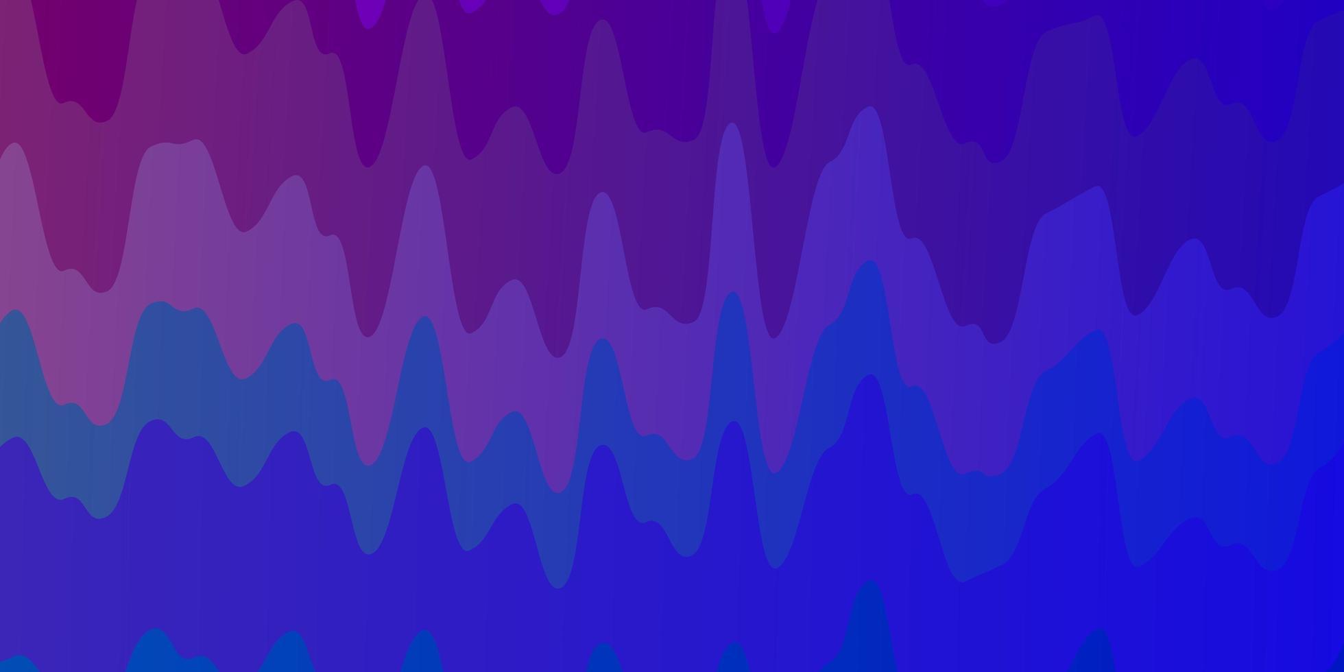 hellblaue, rote Vektorschablone mit schiefen Linien. vektor