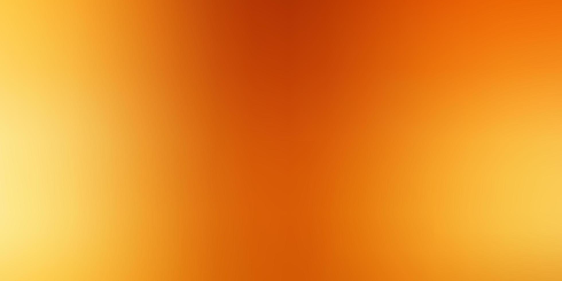 hellorange Vektor abstrakten unscharfen Hintergrund.