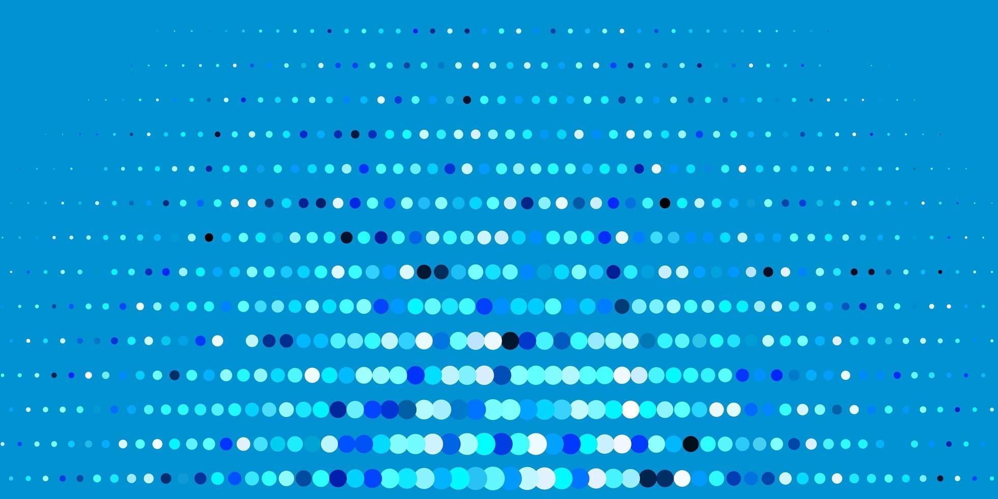 dunkelblauer Vektorhintergrund mit Blasen. vektor