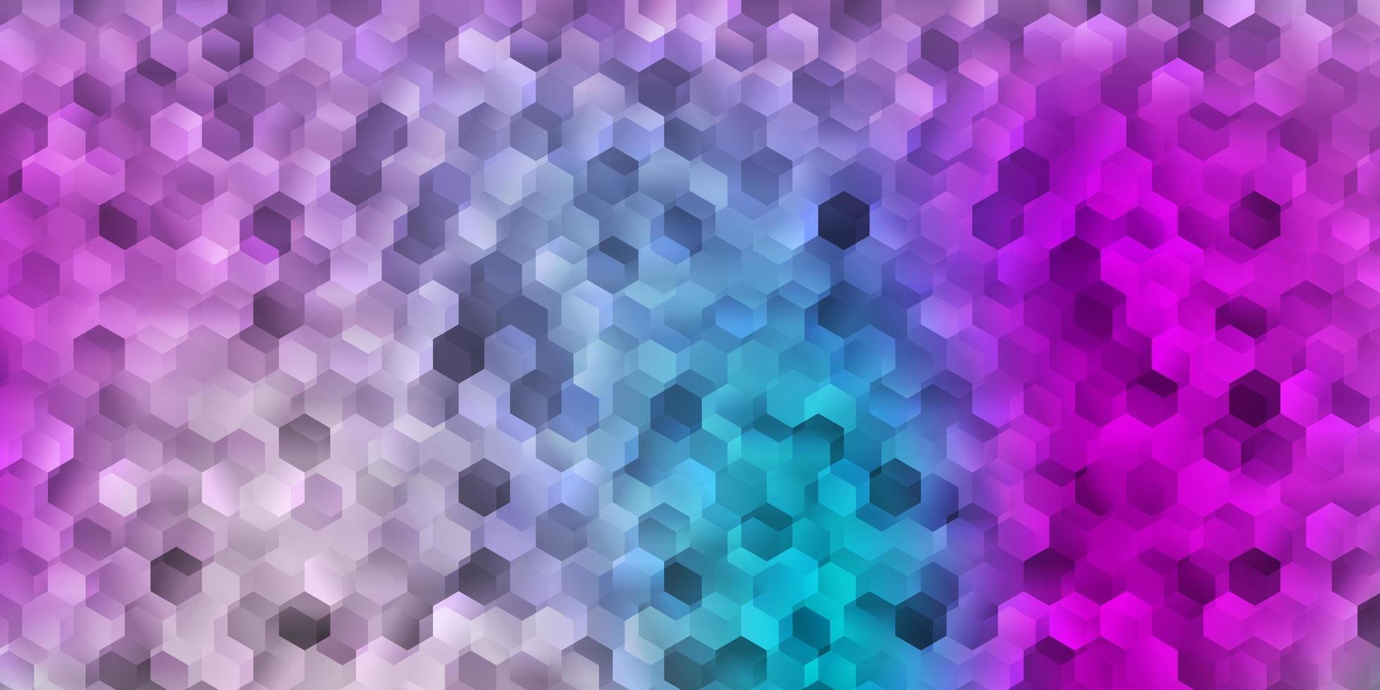 ljusrosa, blå vektorstruktur med memphis-former. vektor
