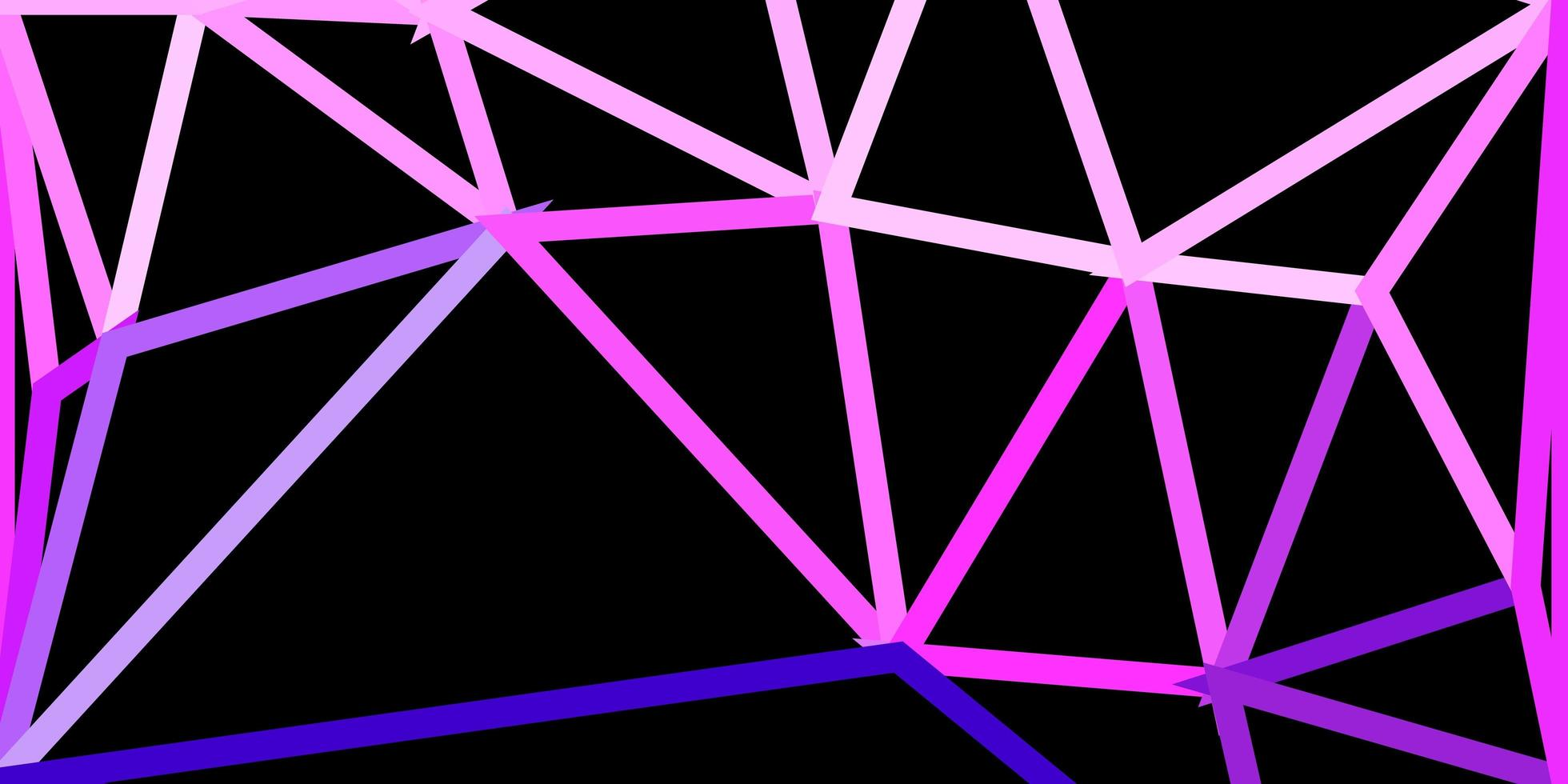 hellrosa Vektor geometrische polygonale Tapete.