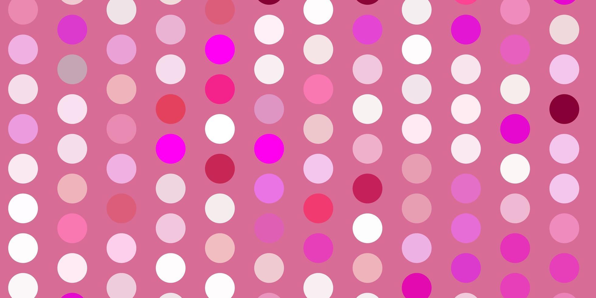 hellrosa Vektorhintergrund mit Flecken. vektor